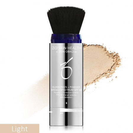 Sunscreen + Powder Broad-Spectrum SPF 40 - Light, Medium and Deep